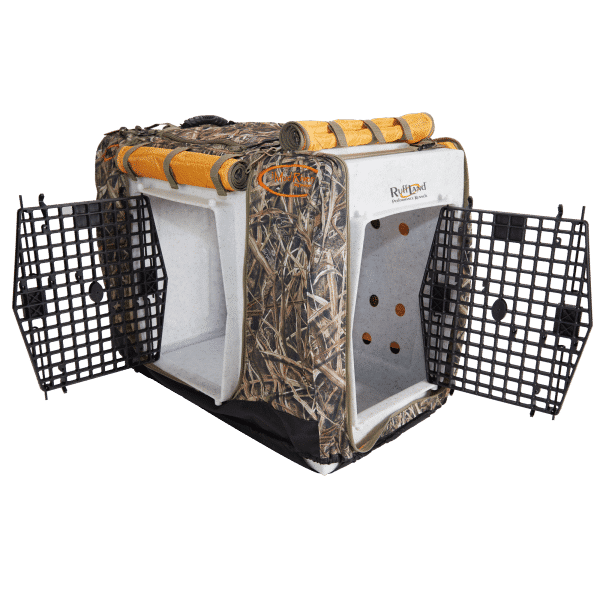 Double Door Insulated Kennel Cover